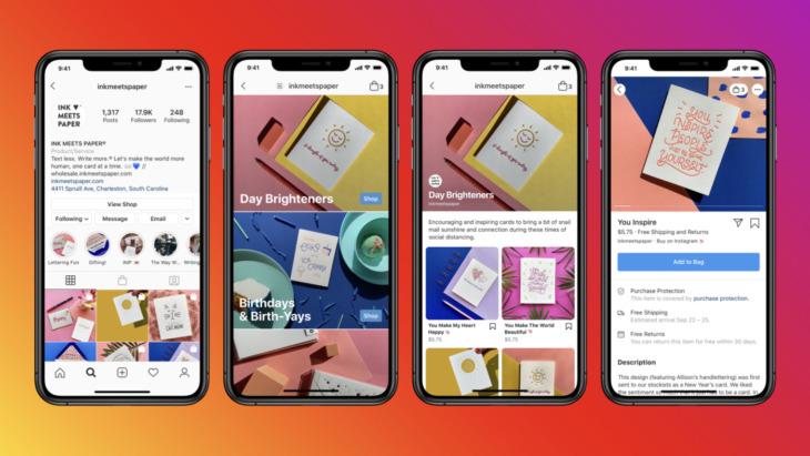 Instagram Shops feature