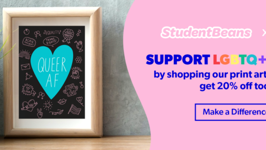 Student Beans partner with charity akt to help support LGBTQ+ youths