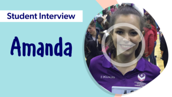 Student Interview with Amanda - Video