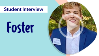 Student Interview with Foster - Video thumbnail