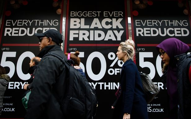 Deals, deals, deals: Black Friday shopping.