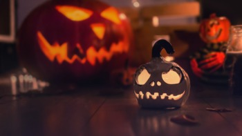 Pumpkin carving is all part of the fun for a nostalgic Gen Z.