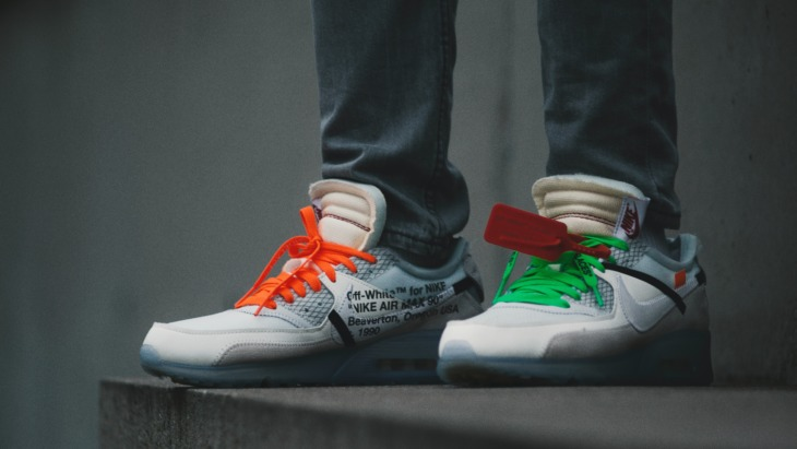 Gen Z have embraced luxury goods - including sneakers, such as these Nike x Off White collabs