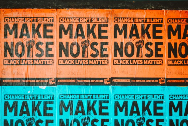 Posters for Black Lives Matter movement