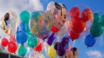 Selection of Disney balloons