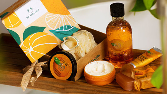 The Body Shop selection of products