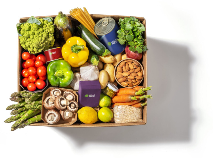 some fruit in a hellofresh box