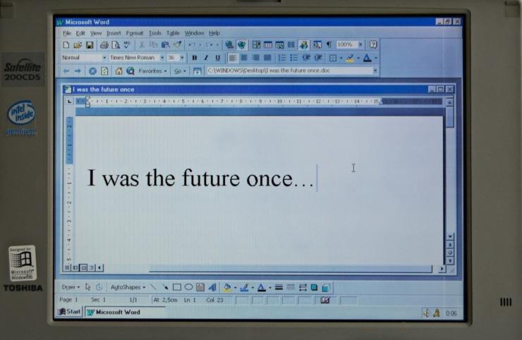 An older microsoft word document