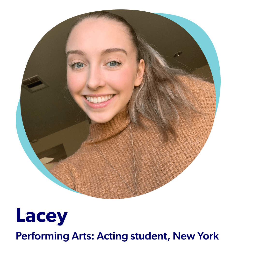 Lacey, Performaing Arts Acting Student from New York