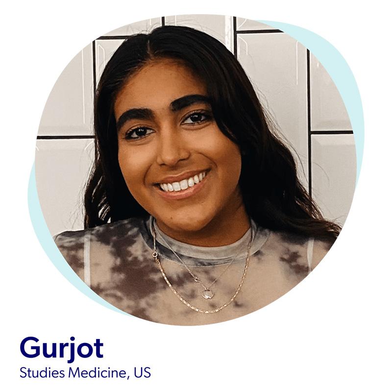 Gurjot, Studies Medicine, US