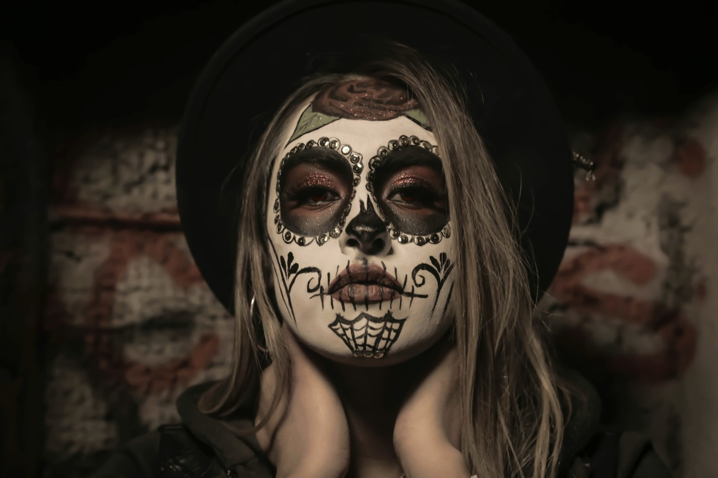 Halloween Day of the Dead make up